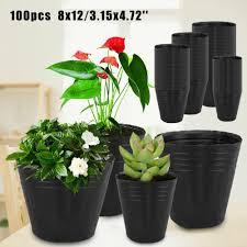 100 pack nursery pots outdoor
