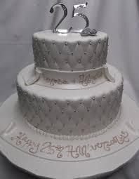 Wedding Cakes Best 25th Anniversary Cake Designs