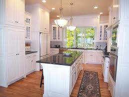 Long Kitchen Island Long Kitchen Cabinets Galley Kitchen Design Features High End