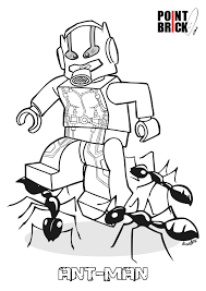 Disegni Da Colorare Lego Ant Man E Jasmine Coloring Pages