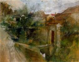 fine art paintings masters.  Fine Early Stages Painting Of Road And Doorway Intended Fine Art Paintings Masters I