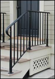 outdoor metal stair railing. WashingtonStSideRailing.jpg Outdoor Metal Stair Railing A