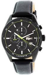 men s lacoste watches watchtag com 38% lacoste dublin leather men s watch 2010785
