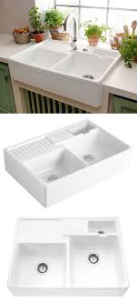 Small Double Kitchen Sinks 17 Best Ideas About Kitchen Sinks On Pinterest Farm Sink Kitchen