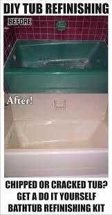 how to re and refinish a tub bathtub refinishing repair ed hairline fiberglass