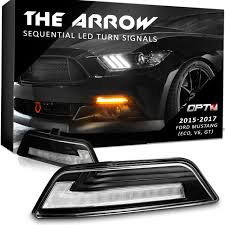 2017 Mustang Lights 2015 2017 Mustang Led Arrow Turn Signals With Switchback Sequential