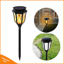 Landscape Lights That Look Like Flames Hot Item Solar Power Led Hexagon Flame Lamp Waterproof Landscape Light Outdoor For Home Garden Patio Lawn Decorations