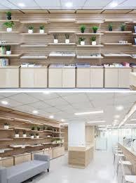 shelving idea wooden slat wall with movable shelves