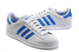 adidas shoes blue and white. adidas superstar 2 white and blue shoes