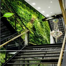 gnw glw077 artificial green plastic plants fake vertical garden living wall indoor landscaping on green wall fake plants with gnw glw077 artificial green plastic plants fake vertical garden