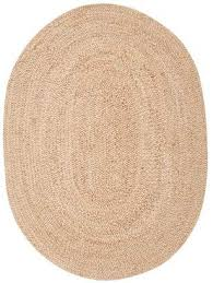 pottery barn braided oval jute rug natural