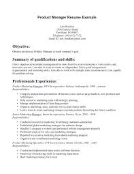 99 Product Owner Resume Examples Small Business Resume Template
