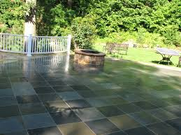 new york blue stone patio
