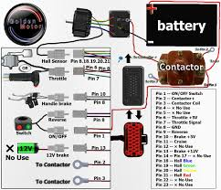 electric motorcycle motorcycle conversion kit electric wiring diagram contator