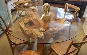teak dining tables uk. teak root dining table - picture 1 tables uk