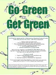 Go Resume Experience For Resume Go Green Get Green E Statement Promotion 35