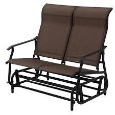 2 person patio glider rocking bench