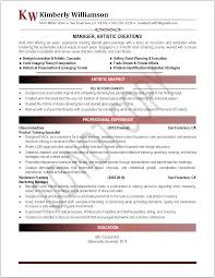 Historical Resume Samples