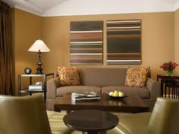 image of best color for living room walls brown