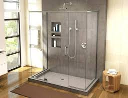 inch shower stall large size of square image concept mat bath mats kits half round enclosure square shower