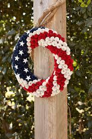 patriotic wreaths for front door288 best 4th of July  Patriotic Wreaths images on Pinterest