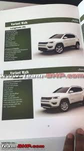 2018 jeep brochure.  jeep 2018 jeep compass grades and features in jeep brochure