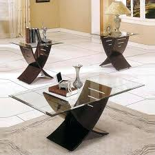 3 pc coffee table sets silver company cafe 3 piece coffee table set in espresso 3 pc coffee table sets