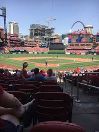 Photos At Busch Stadium That Are Behind Home Plate