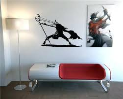 anime wall decals as well as anime wall art 5 unique as for modern japanese anime wall decals reb