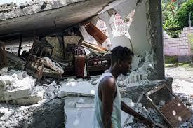 survivors continues after Haiti earthquake