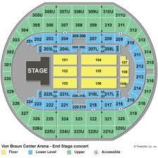 Von Braun Center Arena Seating Chart 24 Most Popular Vbc Seating Chart