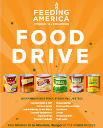Food Drive Posters Host A Food Drive Build Community
