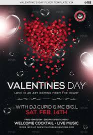 Valentines Flyers Valentines Day Flyer Template V14