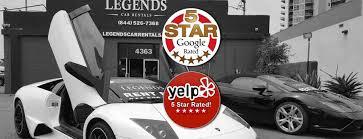 Legends Car Rentals Classic Car Rental Los Angeles Lax Las