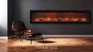 sierra flame vista bi 72 12 electric fireplace