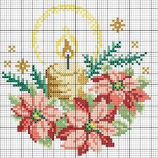 Weihnachtliches Kerzengesteck Sticken Entdecke Zahlreiche