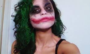 joker makeup for women on jokers female joker and joker costume