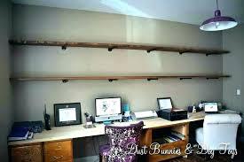 Floating shelf desk Northmallow Wall Desk Shelf Desk With Shelves Above Long Wall Shelves Long Floating Shelves Wall To Wall Wall Desk Shelf Woodworking Forum Wall Desk Shelf Wall Mounted Floating Desk With Storage Shelf Wall