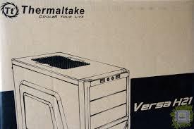 Обзор <b>корпуса Thermaltake Versa</b> H21