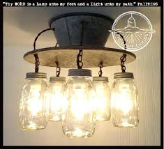 jar light chandelier an exclusive lamp goods mason jar light 5 light the lamp goods mason jar light chandelier mason