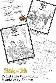 Book Of Life Printables And Twitter Viewing Party Bookoflifebluray