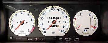 white face gauges for the volvo 240 1990 Volvo 240 Wiring Manual at Volvo 240 Instrument Cluster Wiring Diagram