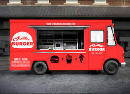 Food Truck Design Serious Modern Food Truck Logo Design For Shaka Burgers By
