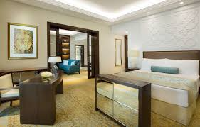 On Suite Bedroom Luxury Suites Accommodation Dubai The Ritz Carlton Dubai