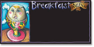 breakfast menu template menu templates art shop
