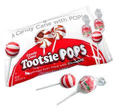 Candy Cane Tootsie Pop Lollipops 16ct Blaircandy Com