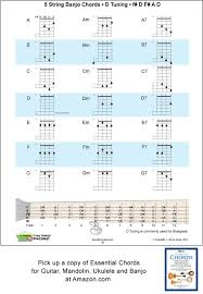 5 String Banjo Chords And Keys For D Tunings F D F A D