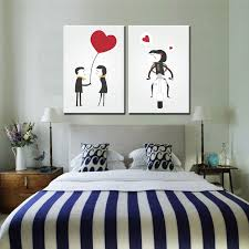 2 panel canvas painting wall art abstract love couple decorative pictures for living room bedroom oil on wall art frames for bedroom with 2 panel canvas painting wall art abstract love couple decorative