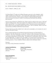 donation request letter for school sample donation request letter 7 examples in word pdf