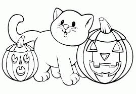 This picture is cute because of the animated character and would be fun to color too. Halloween Coloring Pages Free Printable Coloring Home